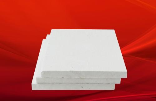 Ceramic fiberboard