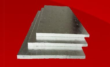 Высокопрочные панаметровые противолокационные теплоизоляционные плиты керамическим волокном